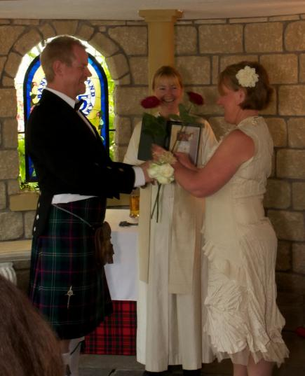 Personal wedding in Scotland