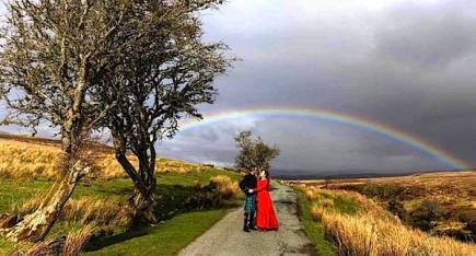 Wedding In Scottish Highlands Isle Of Skye - Celebrant Davina McCluskie